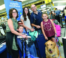 The Kamer family and their dog Nemo prepare to embark on their journey to Israel and a new life.