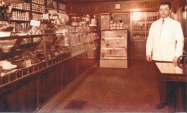 Photo courtesy of the Rubin family Rubin's founder Morris Rubin in the early 1950s