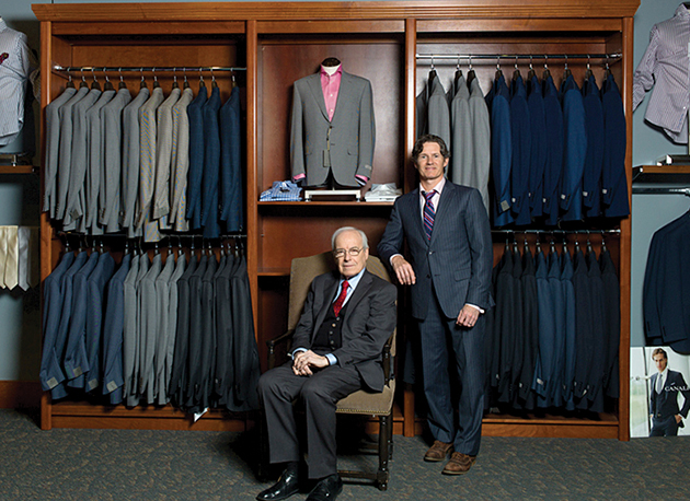Robert Gibeley, who joined the business in 1951, passed the torch to his son, Alan Gibeley.