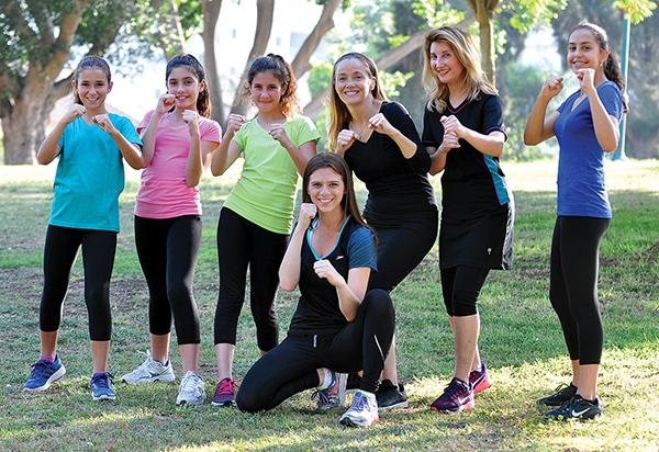 Krav Maga Women And Children Train With Idf Soldier Jewish Journal