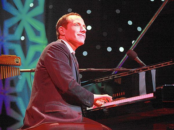 "Singer-songwriter Jim Brickman brings his twentieth holiday show, dubbed ""Comfort and Joy,"" to Lexington's Cary Hall on November 27."