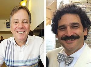 Steven A. Rosenberg, left, and Brett Rhyne