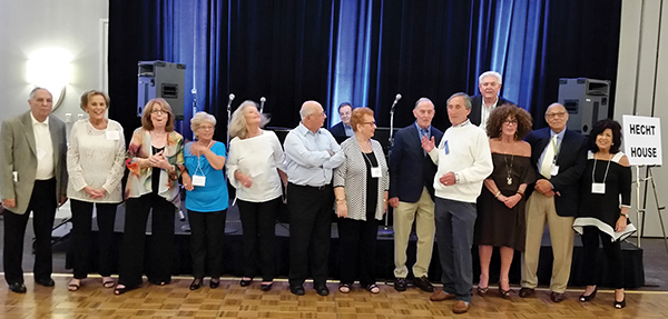 Members of the YMHA-Hecht House Alumni Association reunion committee.
