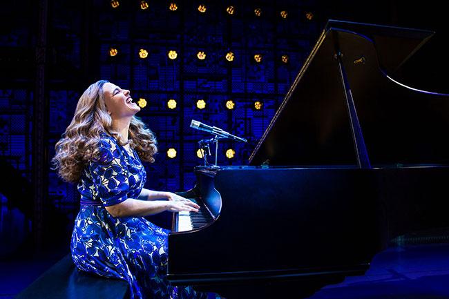 "Sarah Bockel plays Carole King in ""Beautiful: The Carole King Musical."" / Photo by Matthew Murphy"