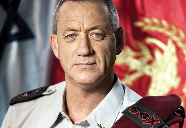 Benny Gantz has the right military credentials, as well as an aura of decency, grace and calm that is sorely lacking.