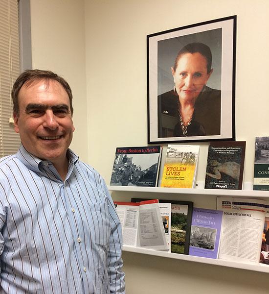 Professor Christopher Mauriello / Photo by Bette Keva