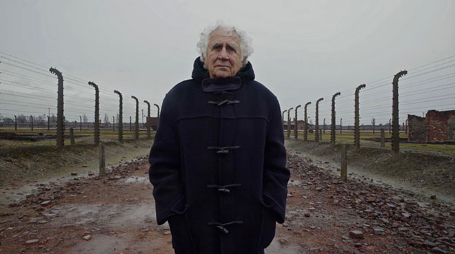 Survivor Bill Glied in Auschwitz