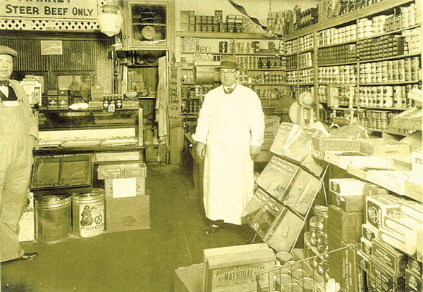Weisberg Meat Market in Peabody. Photo courtesy of Wyner Family Jewish Heritage Center
