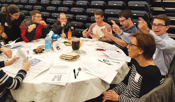 """The Inclusive Haggadah"" at the Jewish Big Brothers Big Sisters Seder tells the story of Passover from a disability rights lens."