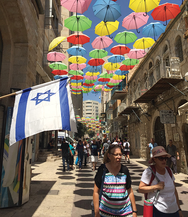 In 2018, a record 4.1 million tourists visited Israel. Photo by Steven A. Rosenberg/Journal Staff