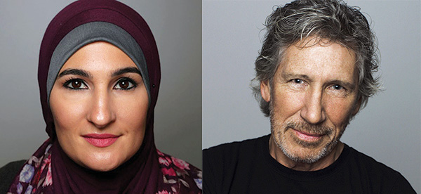 Linda Sarsour and Roger Waters will lead a Boycott, Divestment, Sanctions panel at UMass-Amherst on May 4.