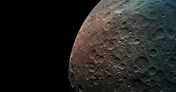 A view of the moon from Israel's Beresheet spacecraft. Photo: SpaceIL