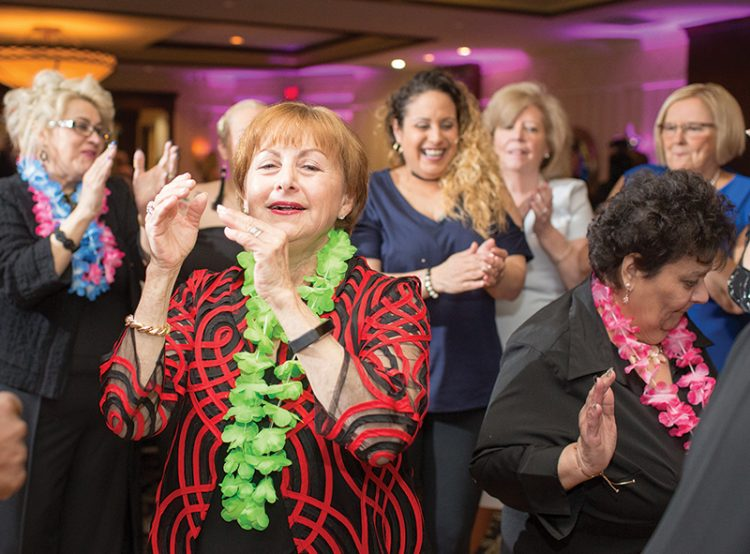 Guests dancing at Chelsea Jewish Lifecare's 100 years celebration. Photos courtesy Sperling Interactive.
