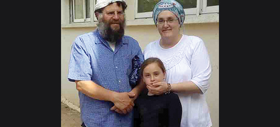 Rabbi Moshe and Raya Kohen, formerly of Swampscott, lost their home in the fire.