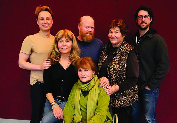 David Gow, Elizabeth Aspenlieder, Micheal Toomey, Tina Packer, David Bertoldi, Annette Miller.
