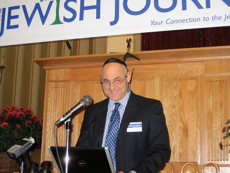 Bob Powell was part of an interfaith committee examining how to better include non-Jewish members at Congregation Shirat Hayam.