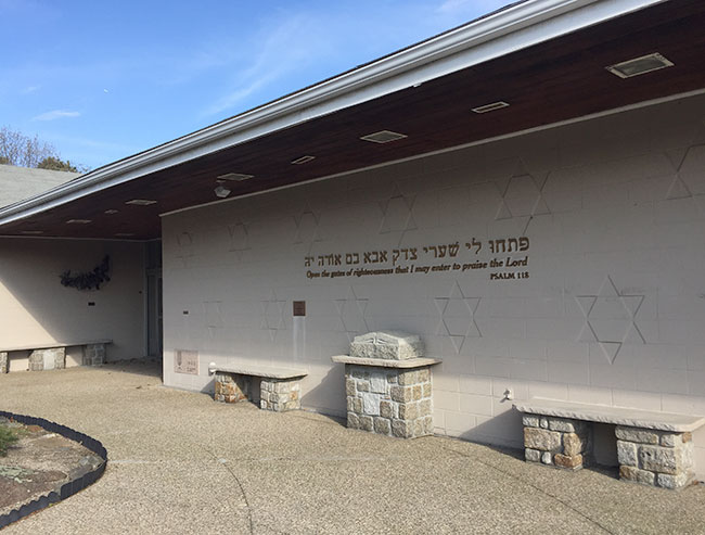 Temple Sinai has added an ADA-compliant, gender-neutral bathroom since joining the Ruderman Synagogue Inclusion Project.