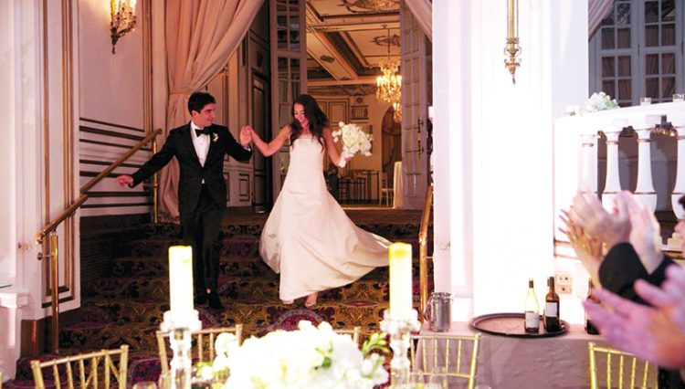Newlyweds Josh Kay and Brooke Patkin married at the Fairmont Copley Plaza Hotel in Boston. Photos: Cheryl Richards Photography