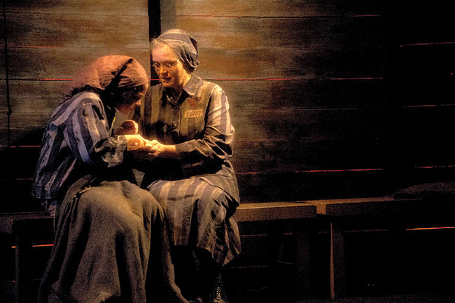 """""""From Silence,"""" the story of three generations affected by the Holocaust, played in June at the Gloucester Stage Company."""