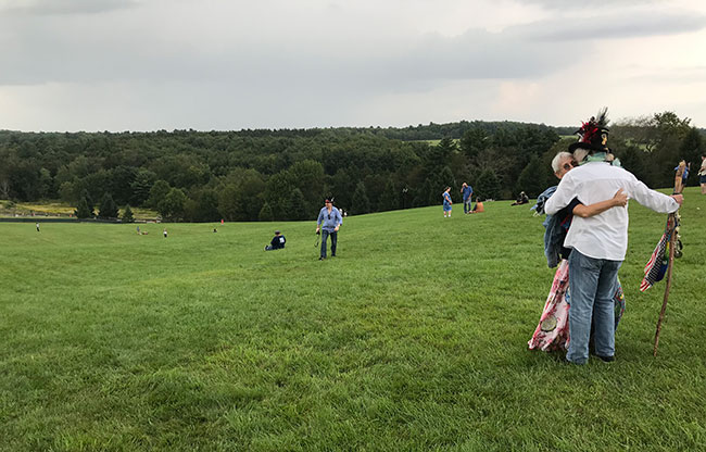 For some old hippies, Woodstock is their Holy of Holies. / Photo: Steven A. Rosenberg / Journal Staff