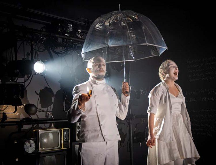 "David Gamarnik and Olga Sokolova in ""The Stone."" Photo: Irina Danilova"