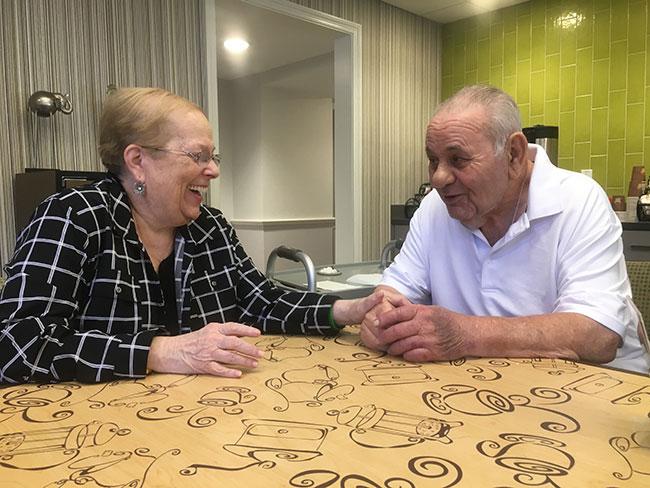 Margo and Arthur Suckney