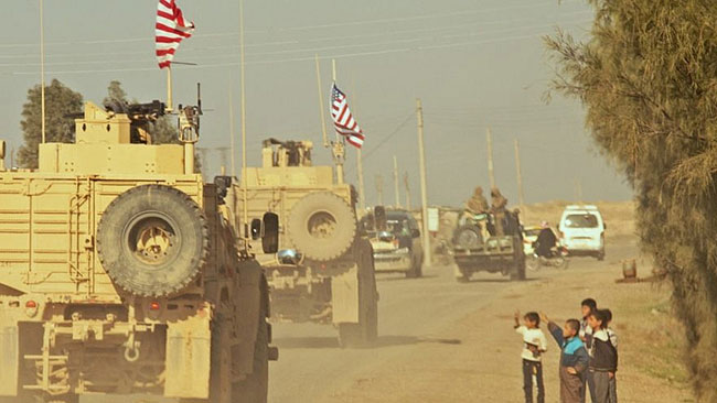 A convoy of U.S. soldiers in Syria. / Photo: Wikimedia Commons