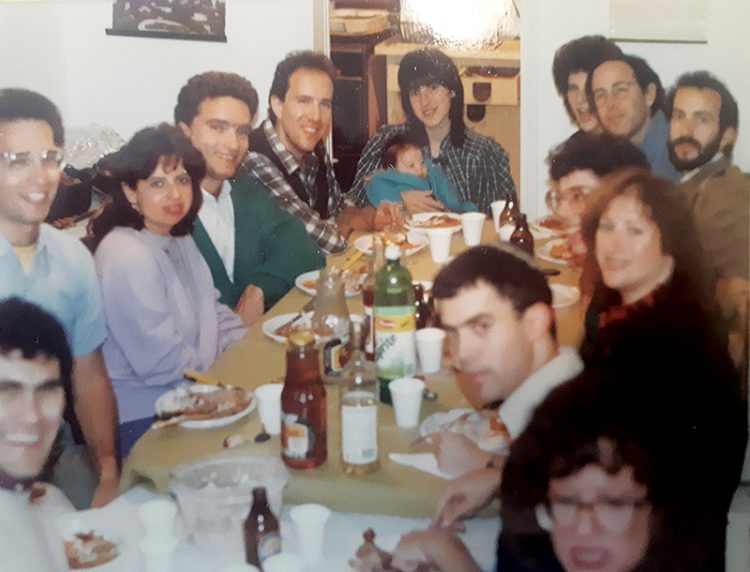 The Brinn family enjoys Thanksgiving in Jerusalem.