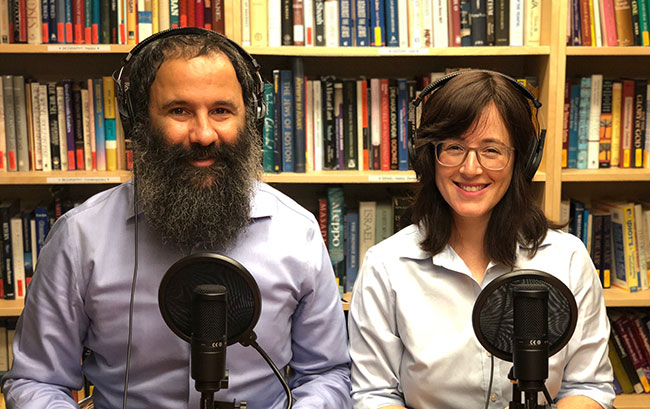 The podcast of Rabbi Peretz Chein and his wife, Chanie, invites listeners to reimagine their Jewish lives.