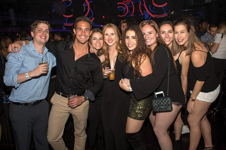 Singles will gather on Christmas Eve for the annual MatzoBall at Royale in Boston. Photo: Jordyn Cohen, MatzoBall
