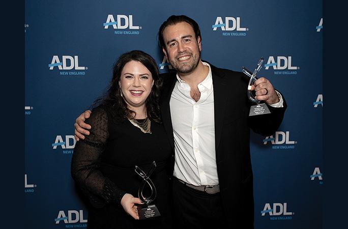 Allie Shalom and Joseph Lavoie Jr.