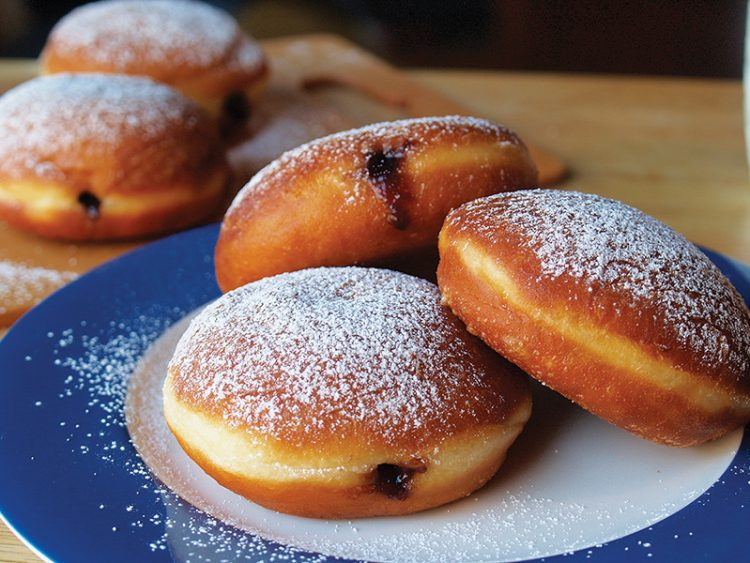 Sufganiyot are becoming as popular in the United States as in Israel.