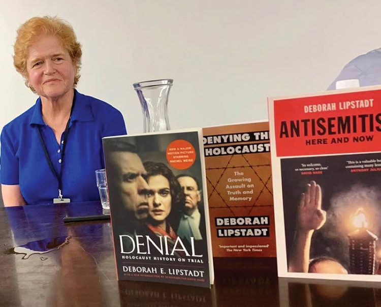 Deborah Lipstadt will address the North Shore via video conference later this year.