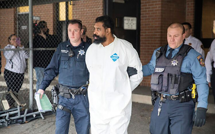 Police arrest the suspect in the Monsey, N.Y., synagogue stabbing.