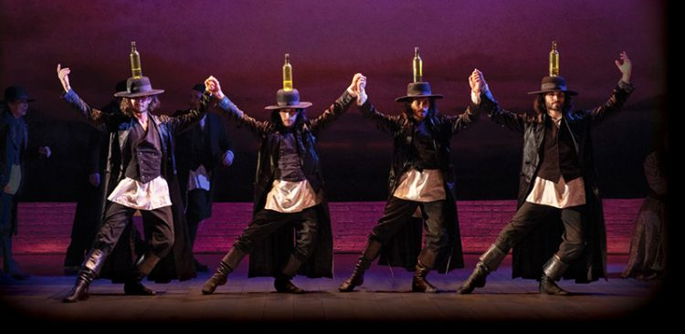 The touring production is being presented by Broadway in Boston through March 8 at the Emerson Colonial Theatre.