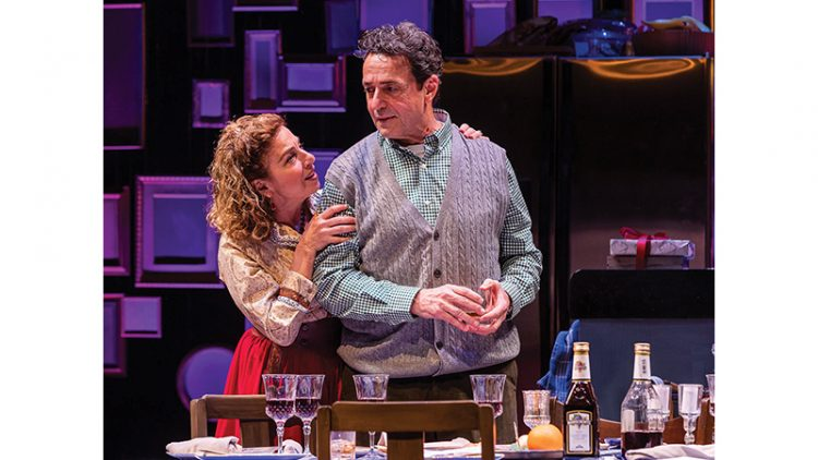 """Eleanor Reissa and Stephen Schnetzer in """"We All Fall Down."""" Photo: Nile Hawver"""
