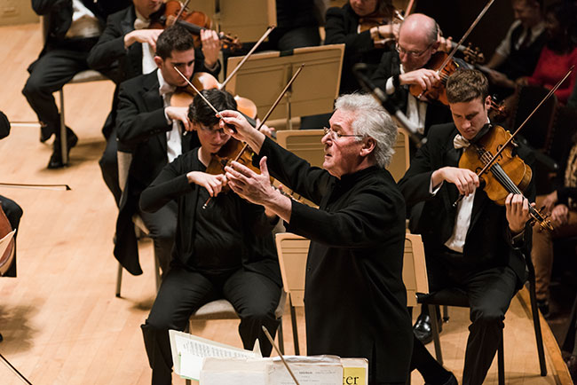 Pinchas Zukerman will join the BSO on Feb. 21, 22 and 25. / Photo: Liza Voll/Courtesy Boston Symphony Orchestra