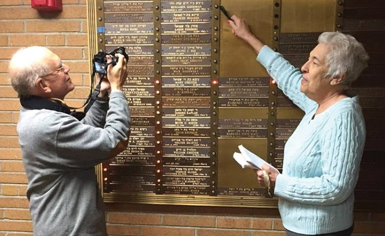 Carol Clingan, research projects coordinator at the Jewish Genealogical Society of Greater Boston, located and archived almost 80,000 Yahrzeit plaques throughout Massachusetts.