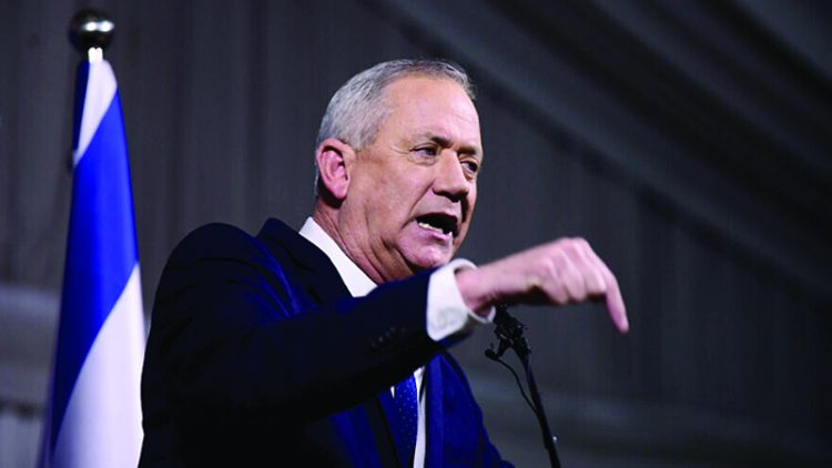 Benny Gantz's appeal to the Joint List reflects how unreliable his promises were before Israel's last three elections. Photo: Tomer Neuberg/Flash90