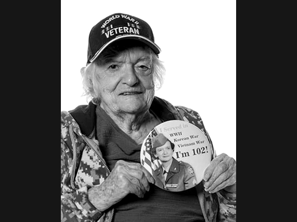 Lillian Aronson at 102.