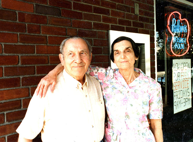 The writer's parents, Sam and Bea Halper.