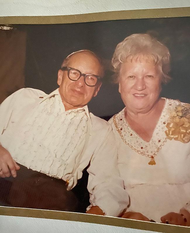 Zaide Aaron and Bobie Ruth