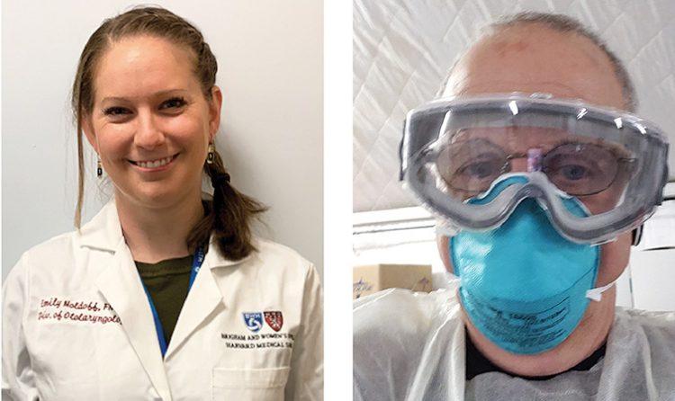 Emily Moldoff, left, and Eugene Rothman.