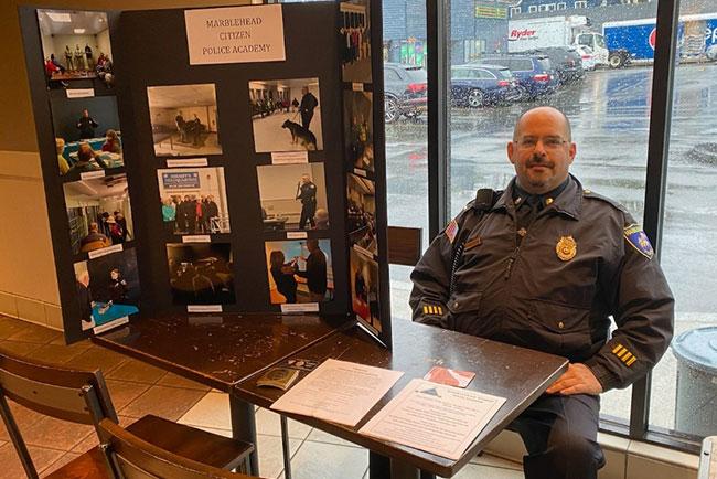 Marblehead Police Lieutenant David Ostrovitz.