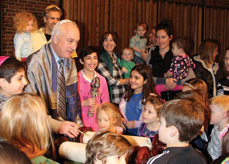 """We are not throwing the doors open,"" said Rabbi David Meyer of Temple Emanu-El in Marblehead."