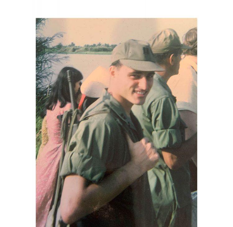 Jewish War Veterans President Harvey Weiner served in Vietnam.