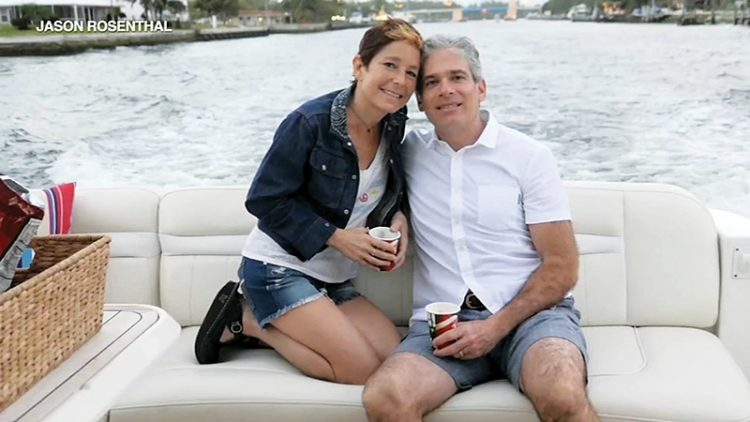 Jason Rosenthal, seen with his late wife, Amy, will open the series on Oct. 6.