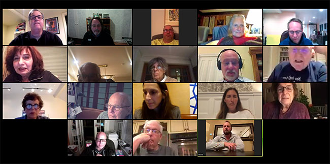 This year the Journal's annual meeting was held online.