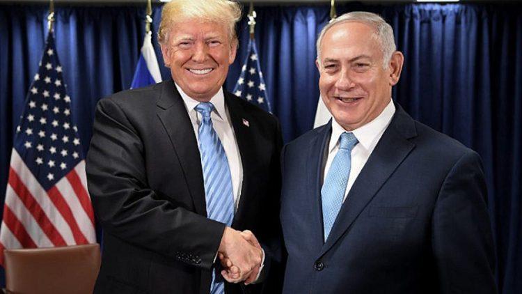 President Donald Trump and Israeli Prime Minister Benjamin Netanyahu in happier times. Photo by Avi Ohayon/GPO