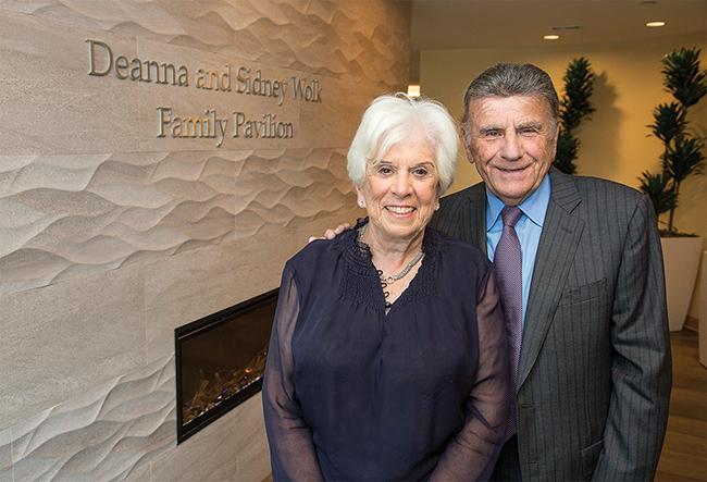 Deanna and Sidney Wolk